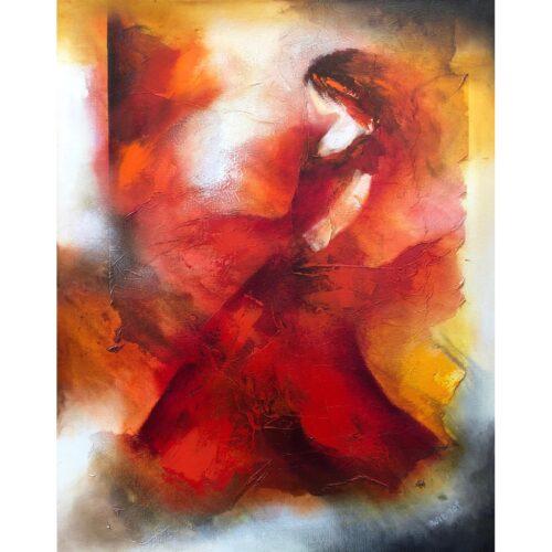Wil Lof schilderij 'Tosca 0703'