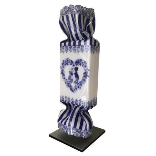 Ad van Hassel Pop Art toffee 'Delfts Blauw'