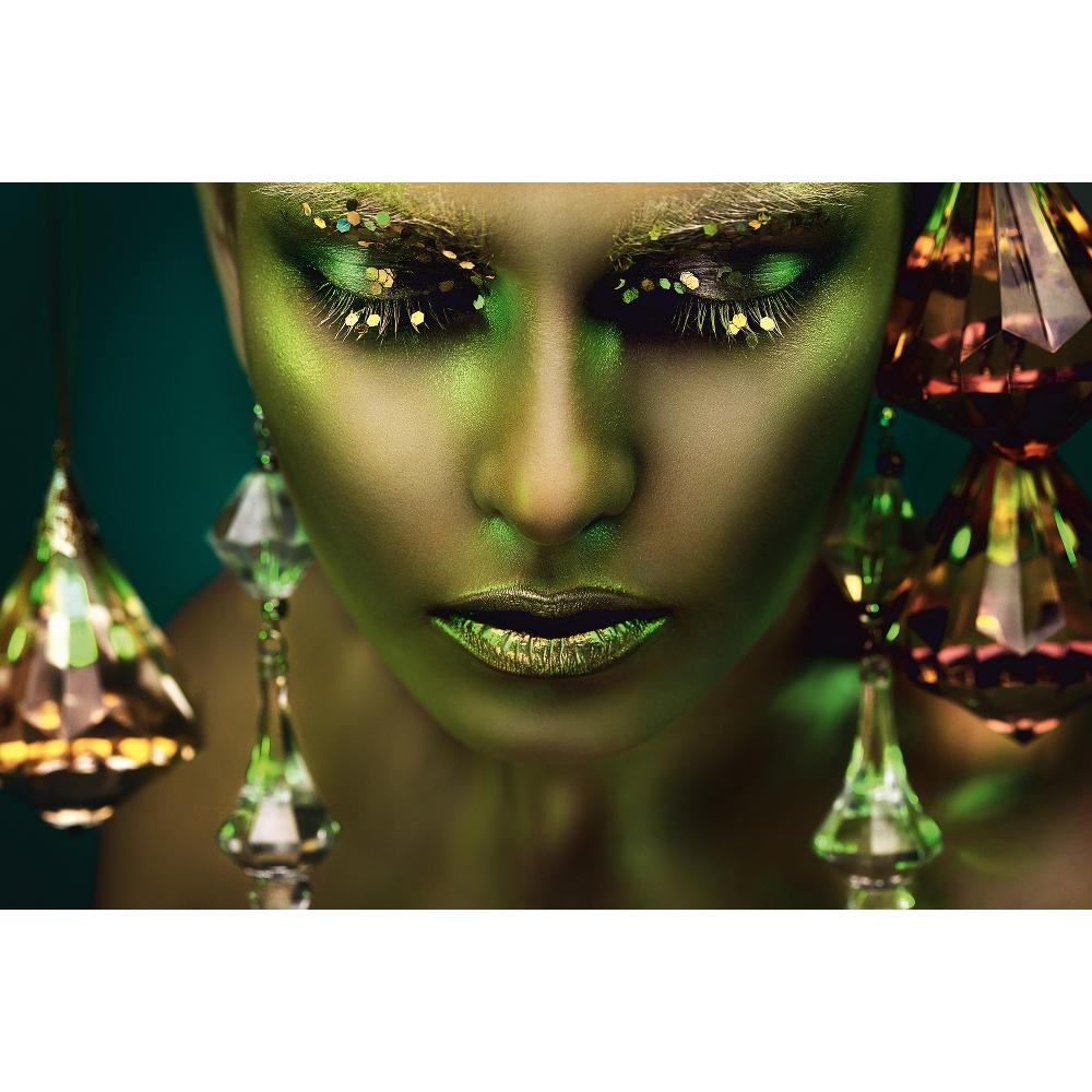 Foto op plexiglas 'Smaragd'