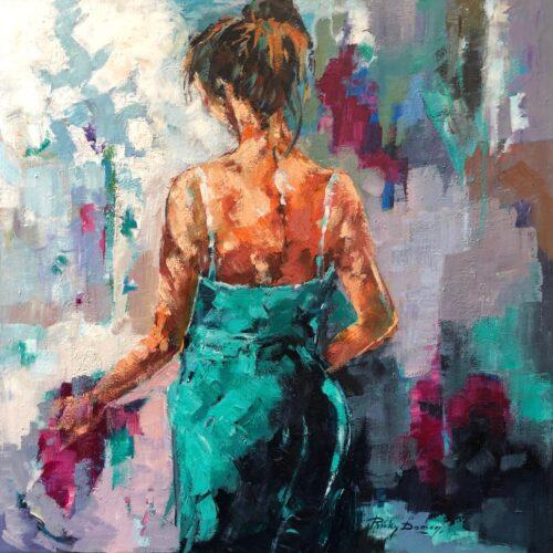 Ricky Damen schilderij 'Sensual'