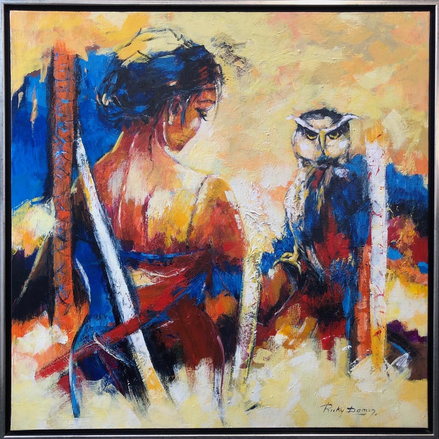 Ricky Damen schilderij 'Wishdom'