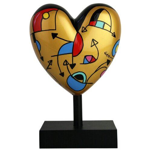 Déesse beeld 'Missive Heart Gold Miranda'