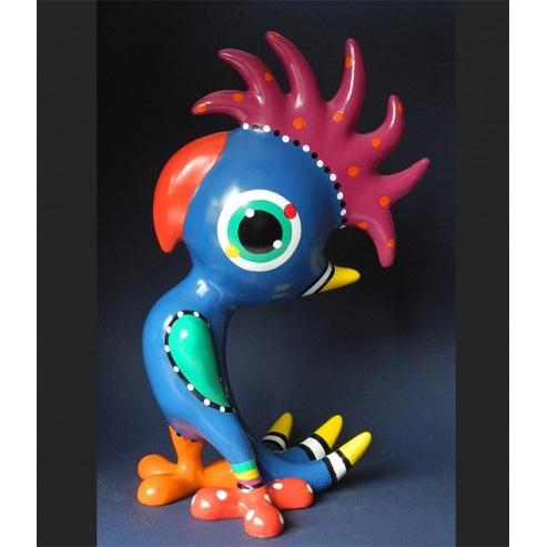 Jacky Zegers beeld 'Cockatoo Pex'