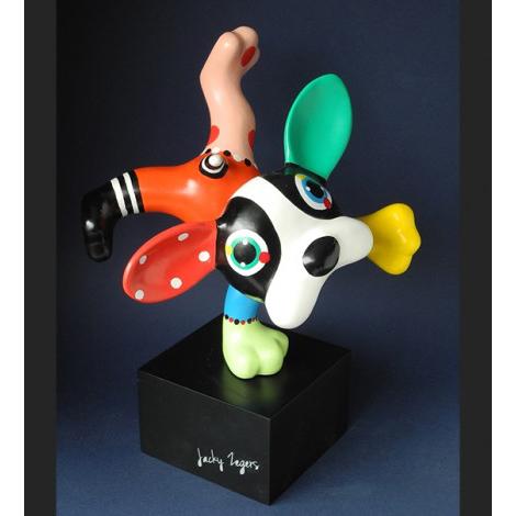 Jacky Zegers beeld 'Dog Boris'