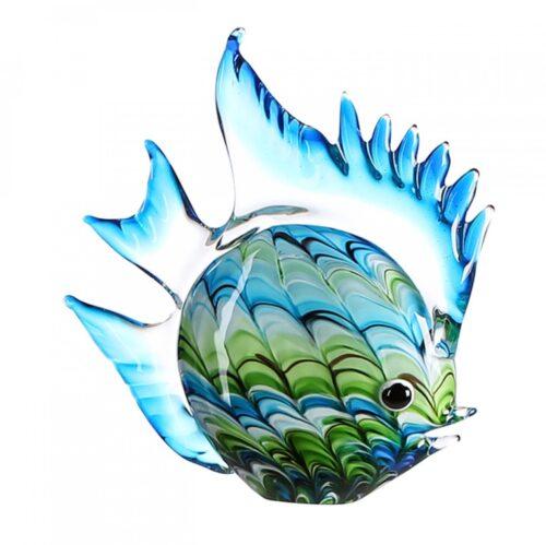 Vetro glas beeld 'Vrolijke Vis'