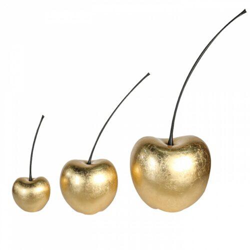 Design keramiek beeld 'Cherry Gold'