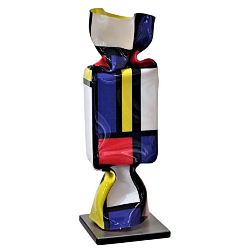 Ad van Hassel Pop Art toffee 'Mondriaan'