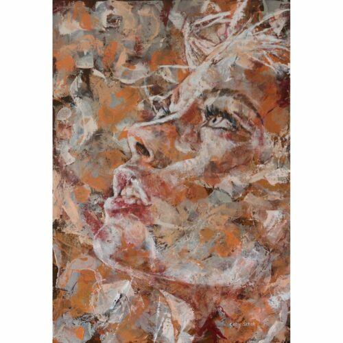 Coby Schot schilderij 'Passion'