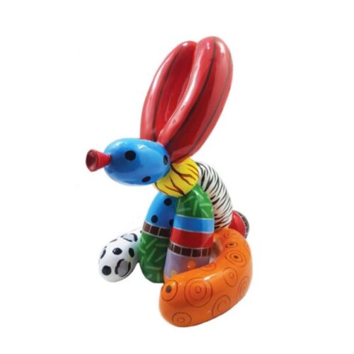 Didi Diaz Torso beeld 'Balloon Rabbit Vivid'