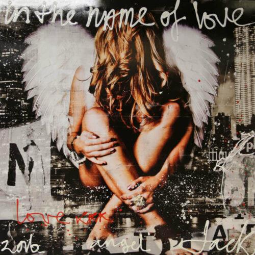 Jack Liemburg schilderij 'Angel Wings'
