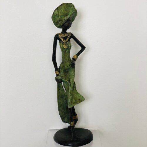 Ger van Tankeren 'Uniek Afrikaans bronzen beeld III'
