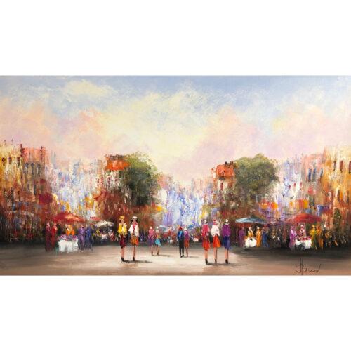 Henry Brand schilderij 'City Centre'