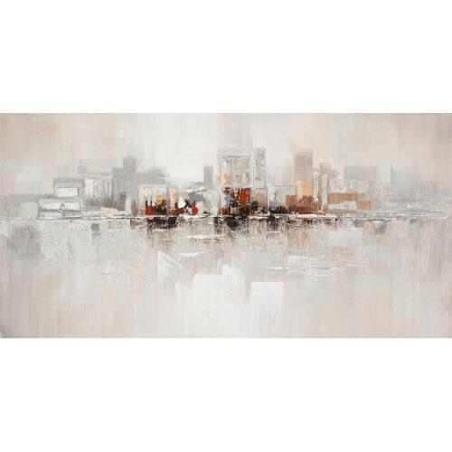 Schilderij 'Dreaming skyline I'