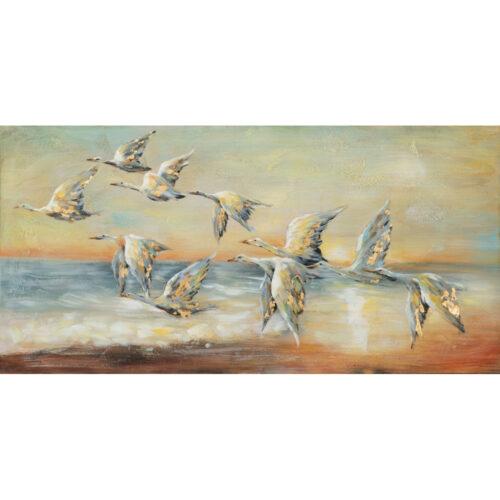 Schilderij 'Flying Geese'