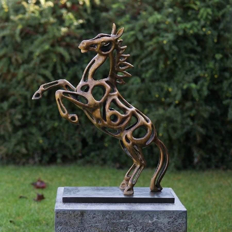 Bronzartes bronzen beeld 'Horse'