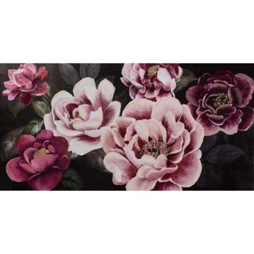 Schilderij 'Pretty blossoms in pink'