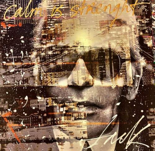 Jack Liemburg schilderij 'Calm is Strenght'