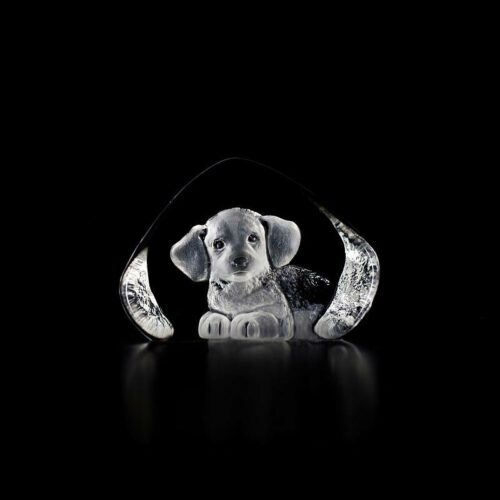 Målerås kristalglas 'Puppy'
