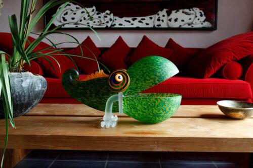 Borowski glas schaal 'Chameleon Big'