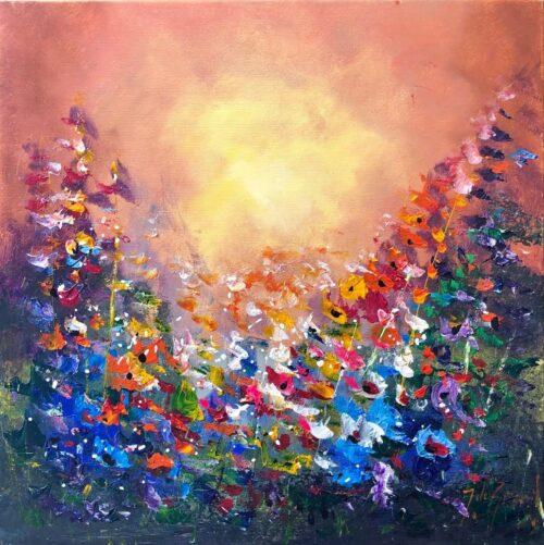 Jochem de Graaf schilderij 'Sunset'