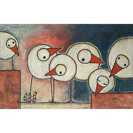 Hans Innemee Giclée 'When the night's shifting away'