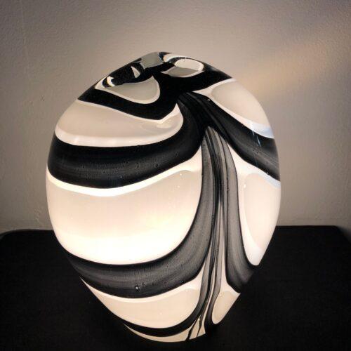 Loranto glazen lamp 'Zebra'