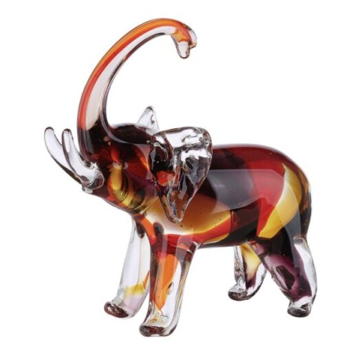 Gilde glassculptuur 'Olifant'