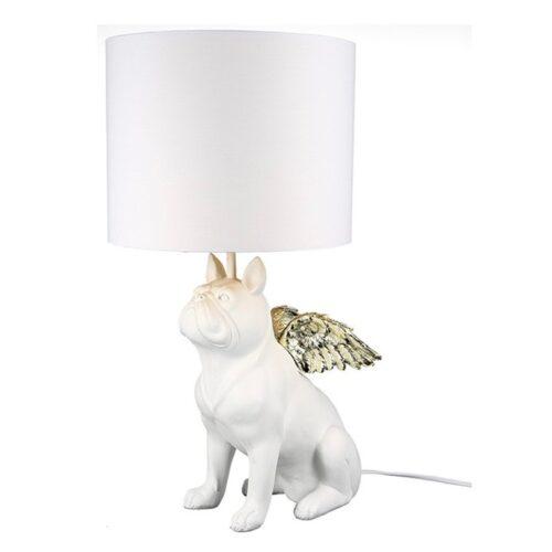 Design lamp 'Flying Bulli white'