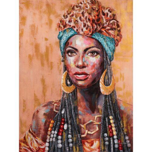 Schilderij 'African beauty III'