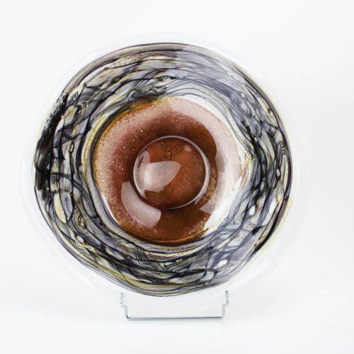 Loranto glas schaal 'Earth'