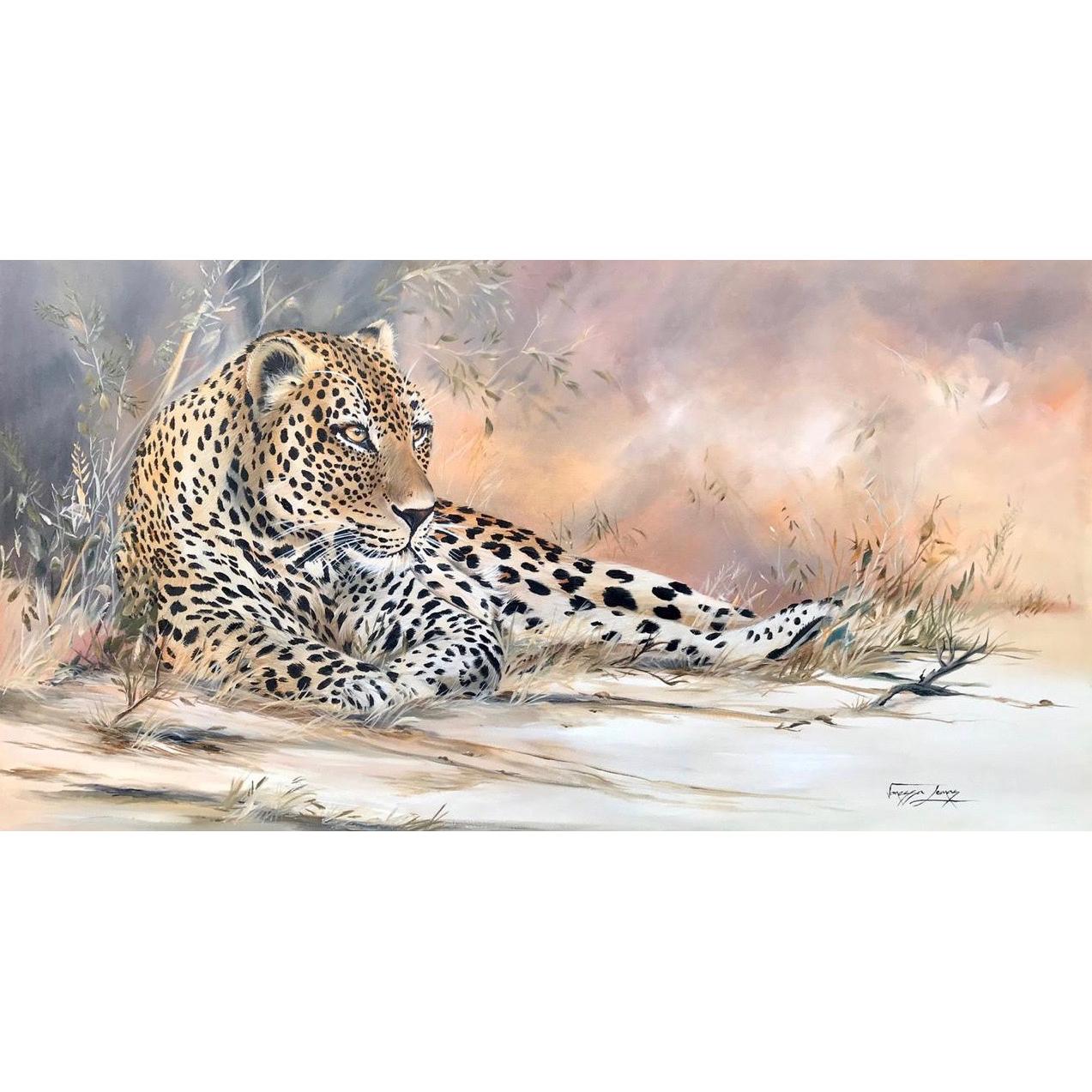 Vanessa Lomas schilderij 'Focus'
