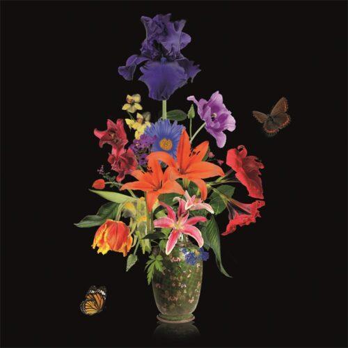 Foto op aluminium 'Flower Vase II'