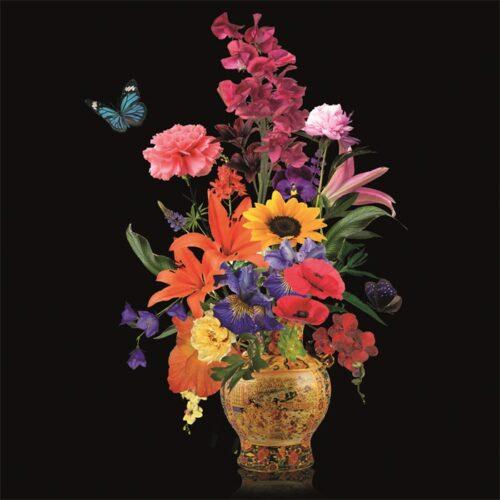Foto op aluminium 'Flower Vase III'