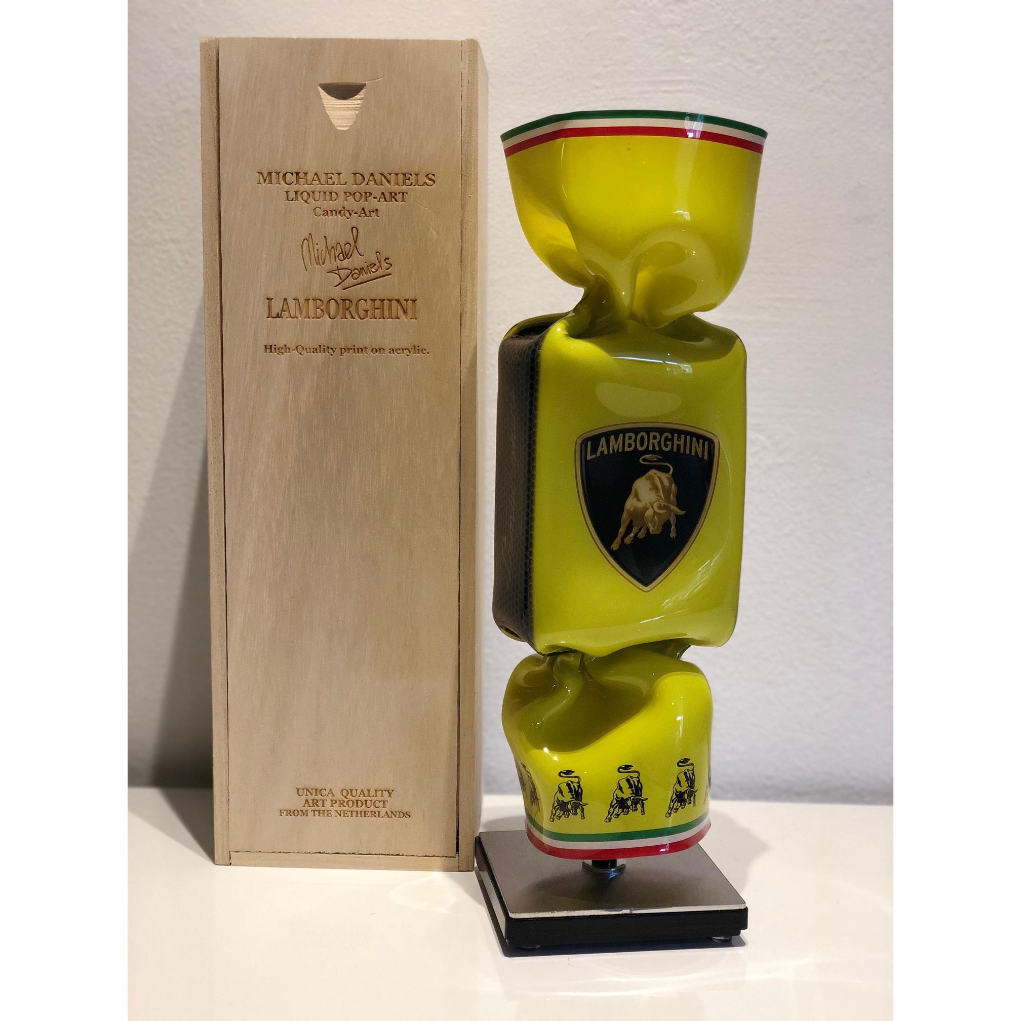 Michael Daniels Art Toffee 'Lamborghini Yellow'