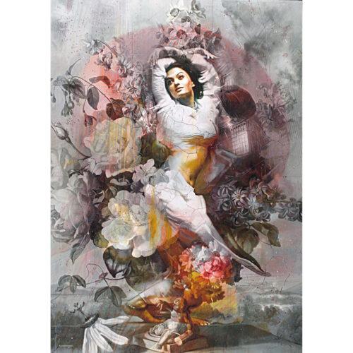 Tos Kostermans schilderij 'The Bellydancer'