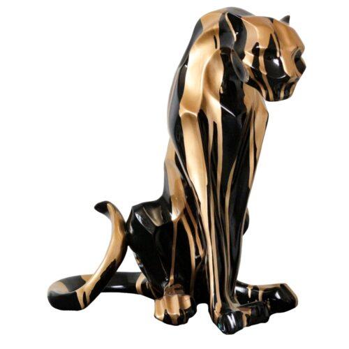 Design sculptuur 'Seated Panther'