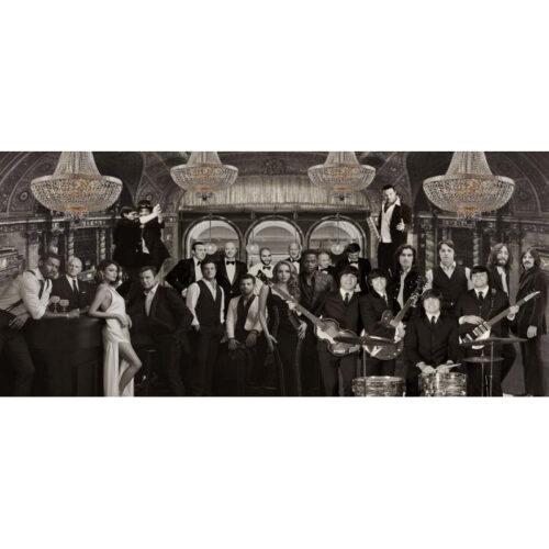 Foto op glas 'Private Concert'