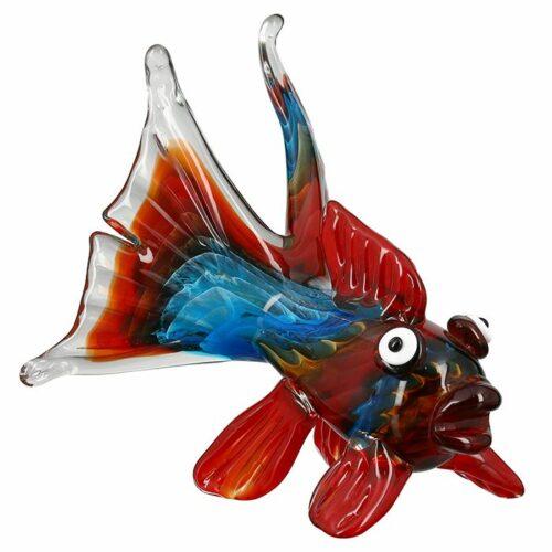 Gilde glas beeld 'Firefish'