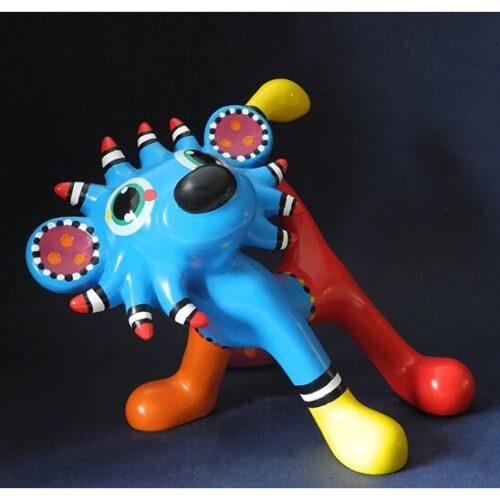 Jacky Zegers beeld 'Loekie'