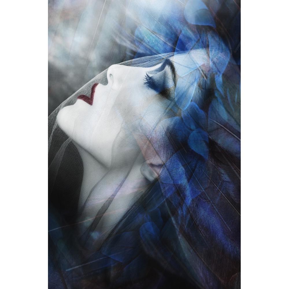 Foto op plexiglas 'Beauty with gauze'