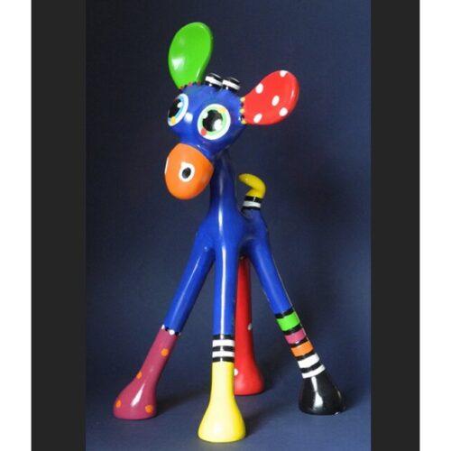 Jacky Zegers beeld 'Giraffe Alex'