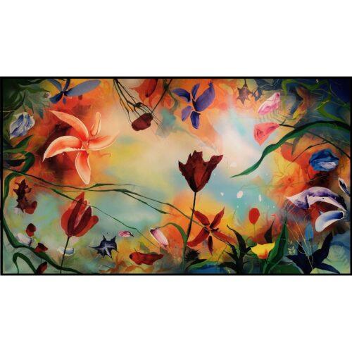 Plamen Bibeschkov schilderij 'Secret live of flowers IX'