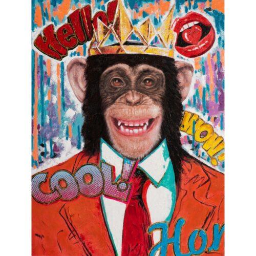 Schilderij 'Hello Monkey'