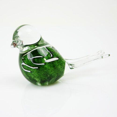 Loranto glazen vogel 'Groen'