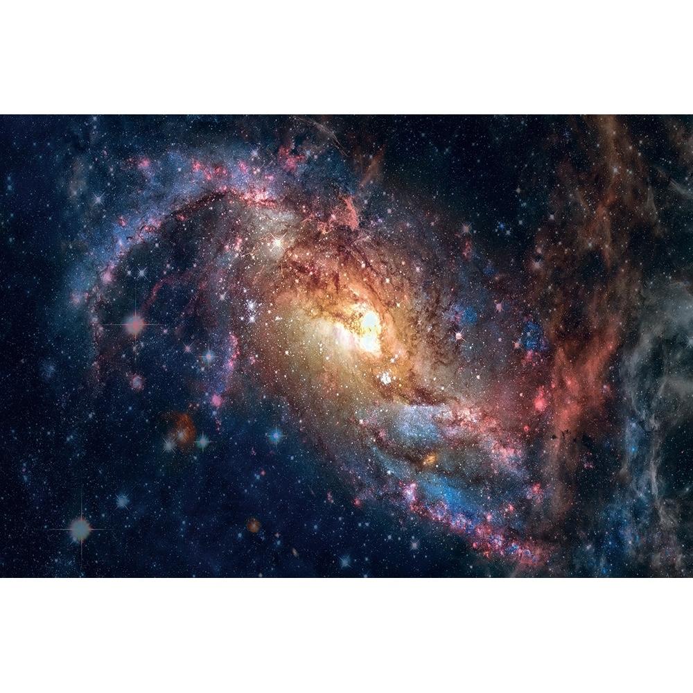 Foto op glas 'Explosion in space'