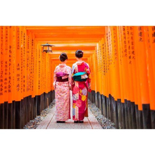 Foto op plexiglas '2 Japanese'