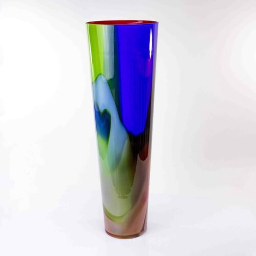 Loranto glas vaas 'Multicolor'