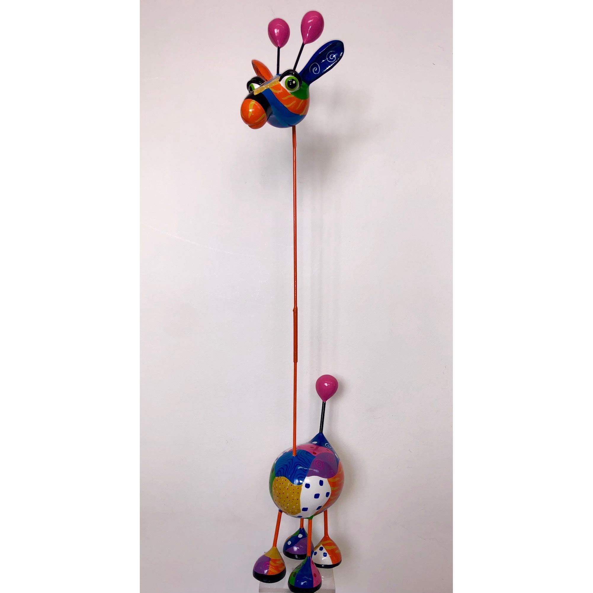 Mia Coppola Crazy Giraffe 'Pink' (M)