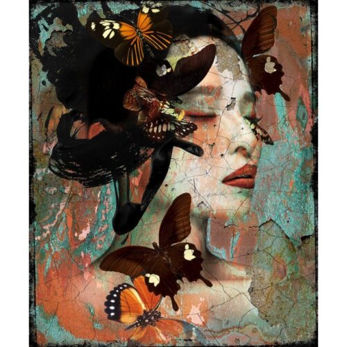 Hans Jochem Bakker schilderij 'Oriental I'