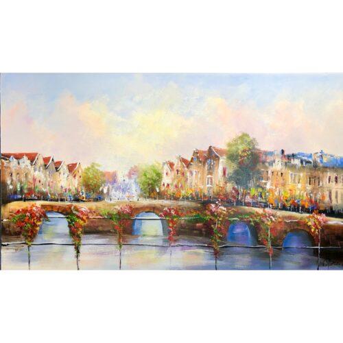 Henry Brand schilderij 'De Grachten'
